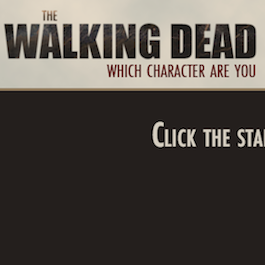 Walking Dead Character Quiz
